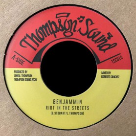 "(7"") BENJAMMIN - RIOT IN THE STREETS / RIOT IN DUB"