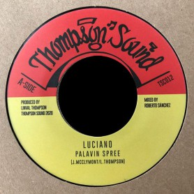 """(7"""") LUCIANO - PALAVIN SPREE / PALAVIN SPREE DUB"""