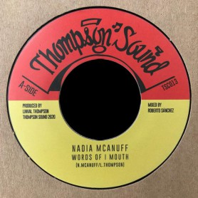"(7"") NADIA MCANUFF - WORDS OF I MOUTH / DUB OF I MOUTH"