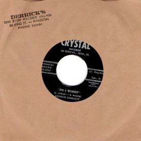 "(7"") DERRICK HARRIOTT - DO I WORRY / BOBBY ELLIS & THE CRYSTALITES - SHUNTIN"