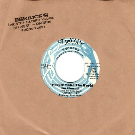 "(7"") CHOSEN FEW - PEOPLE MAKE THE WORLD GO ROUND /DERRICK HARRIOTT - BROWN BABY"