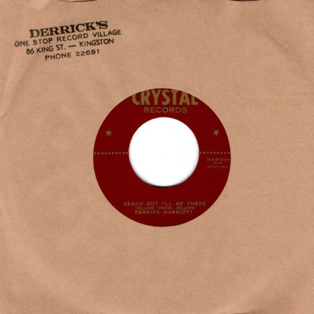 "(7"") DERRICK HARRIOTT - REACH OUT I'LL BE THERE / BOBBY ELLIS & THE CRYSTALITES - ILLYA KURYAKIN"