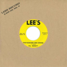 """(7"""") VAL BENNETT - THE RUSSIANS ARE COMING / GLEN ADAMS - LONELY GIRL"""