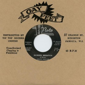 """(7"""") DELANO STEWART - ROCKING SENSATION / THE GAYSTERS - ONE LOOK"""