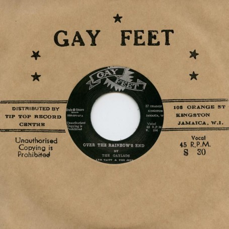"(7"") THE GAYLADS - OVER THE RAINBOW'S END / LESLIE BUTLER - REVIVAL"