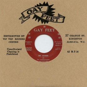 "(7"") THE HARMONIZERS, THE FUGITIVES- MY QUEEN / THE VALENTINES ‎– BLAM BLAM FEVER (GUNFEVER)"