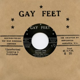 """(7"""") MILICENT TODD (PATSY) BABA BROOKS AND HIS RECORDING BAND – LOVING LOVE / ALTERNATIVE TAKE"""