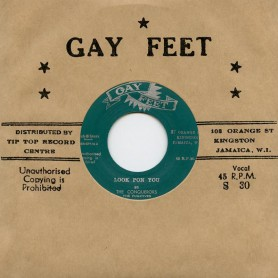 """(7"""") THE CONQUERORS – LOOK PON YOU / I'VE DONE YOU WRONG"""