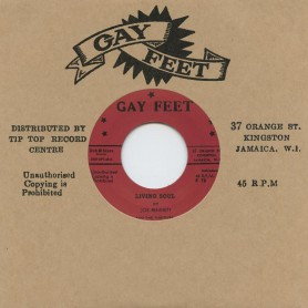"(7"") JOE BENNETT & THE FUGITIVES ‎– LIVING SOUL / ALTERNATIVE TAKE"