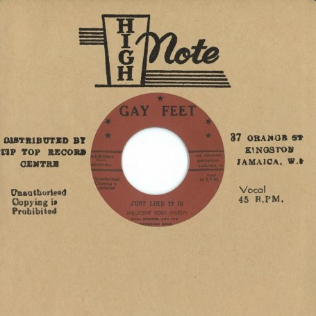 "(7"") MILLICENT TODD (PATSY) ‎– JUST LIKE IT IS / I TELL MYSELF"