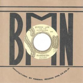 "(7"") BYRON LEE AND THE DRAGONAIRES – FRANKENSTEIN / MUSICAL PRESSURE"