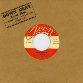 """(7"""") MONTY & THE CYCLONES – SUMMERTIME / DOG IT"""