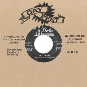 """(7"""") LESLIE BUTLER & COUNT OSSIE - GAY DRUMS / KEN BOOTHE – LADY WITH THE STARLIGHT"""