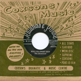 """(7"""") DON DRUMMOND - ROLL ON SWEET DON / CORNELL CAMPBELL & DIMPLES – JERICHO ROAD"""