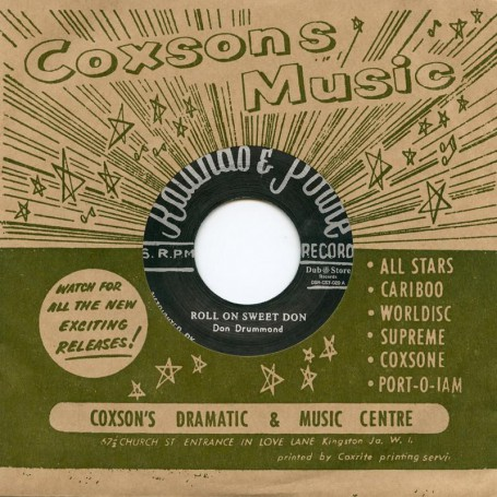 "(7"") DON DRUMMOND - ROLL ON SWEET DON / CORNELL CAMPBELL & DIMPLES ‎– JERICHO ROAD"