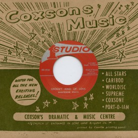 """(7"""") HORTENSE ELLIS - GROOVY KIND OF LOVE / THE THREE TOPS – A MAN OF CHANCES"""