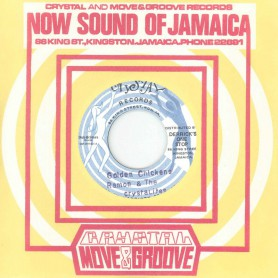 "(7"") RAMON & THE CRYSTALITES - GOLDEN CHICKENS / BONGO HERMAN & LES ‎– HAIL I"