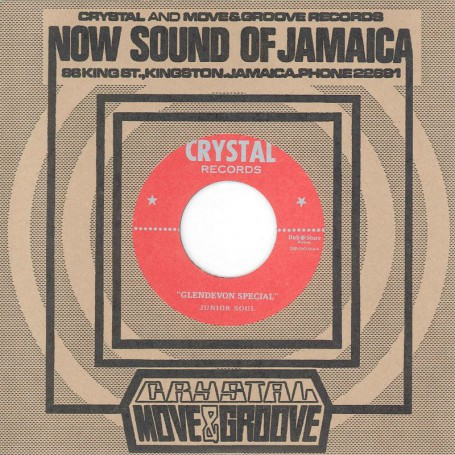"(7"") JUNIOR SOUL ‎– GLENDEVON SPECIAL / MAGIC TOUCH"