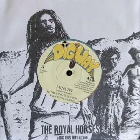 "(7"") KEITHUS DIMTS SELASSIE I & THE ROYAL HORSES - I KNOW / ROBERTO SANCHEZ & THE ROYAL HORSES - I DUB"