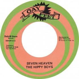 "(7"") THE HIPPY BOYS – SEVEN HEAVEN / SEVEN HEAVEN (ALTERNATIVE TAKE)"