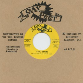 """(7"""") LESLIE BUTLER & COUNT OSSIE - SOUL DRUMS / THE GAYLADS, LYN TAITT & THE JETS – ABC ROCK STEADY"""