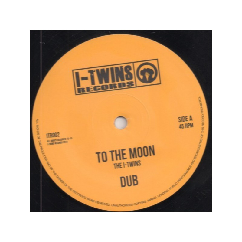 "(12"") THE I-TWINS - TO THE MOON / WESTERN SMOKE"