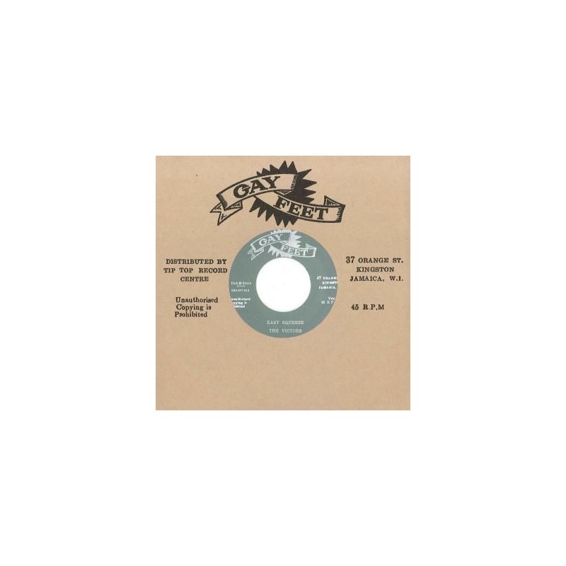 "(7"") THE VICTORS ‎– EASY SQUEEZE / REGGAE BUDDY"
