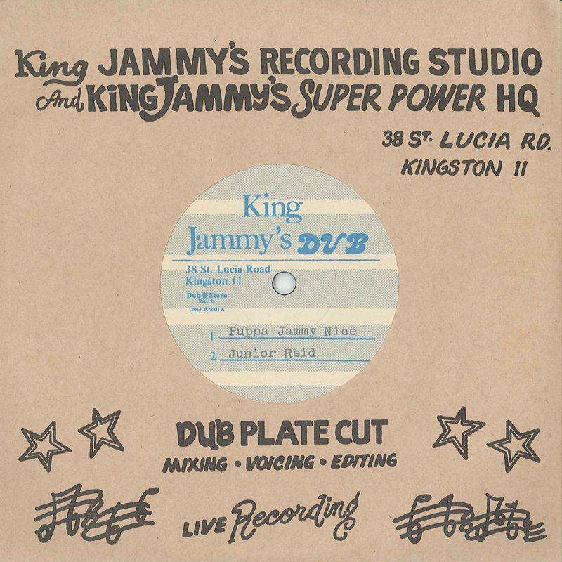 """(7"""") JUNIOR REID - PUPPA JAMMY NICE / LITTLE JOHN – JAMMYS HAS COME"""