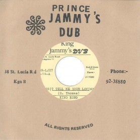 "(7"") KING KONG ‎– DON'T TELL ME YOUR LOVING / VERSION"