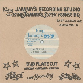 "(7"") SUPER BLACK -  A WE RULE / ANTHONY MALVO ‎– GONE INNA HISTORY"
