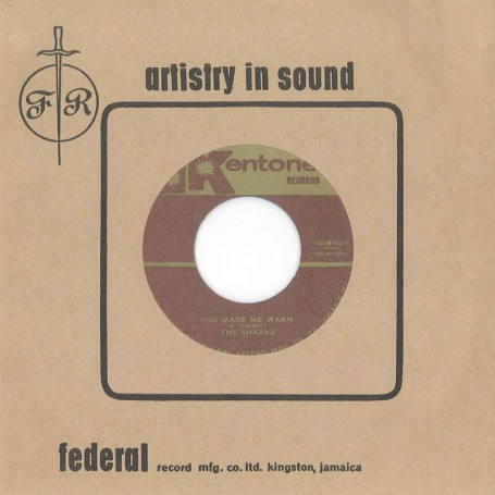 """(7"""") THE SHARKS & THE FEDERAL STUDIO ORCHESTRA – YOU MADE ME WARM"""
