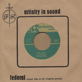 "(7"") ERNEST RANGLIN SELECTED GROUP ‎– FREE FORM / SKALVOUV'A"