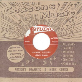 """(7"""") THE SOUL VENDORS - CHINESE CHICKEN / JACKIE MITTOO – PUT IT ON"""