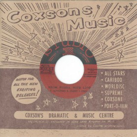 "(7"") R. ALPHONSO & STUDIO ONE ORCH. ‎– FROM RUSSIA WITH LOVE / CLEOPATRA"