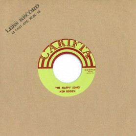 """(7"""") KEN BOOTHE - THE HAPPY SONG / REGGAE BOYS – WHAT YOU GONNA DO"""