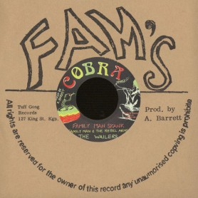 "(7"") FAMILY MAN & THE REBEL ARMS, WAILERS - FAMILY MAN SKANK / DUB COMBINATION"