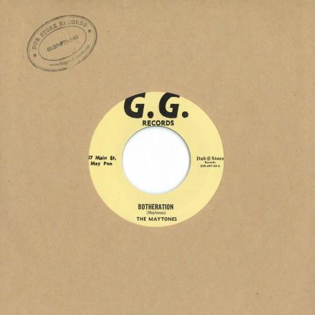 "(7"") THE MAYTONES - BOTHERATION / THE G.G. RHYTHM SECTION – TNT"