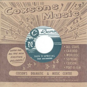 """(7"""") DON DRUMMOND – DON D SPECIAL / FIDEL"""