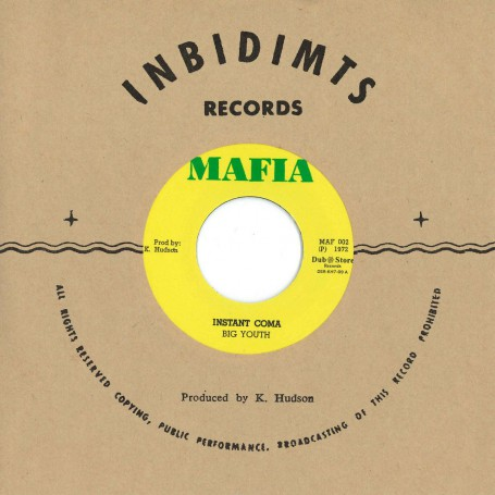 """(7"""") BIG YOUTH – INSTANT COMA"""
