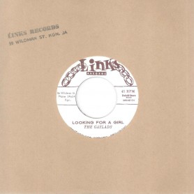 """(7"""") THE GAYLADS – LOOKING FOR A GIRL / AREN'T YOU THE GUY"""