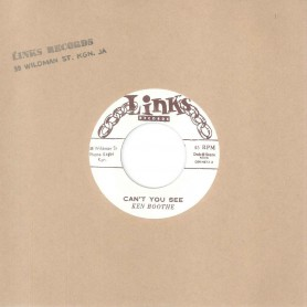 """(7"""") KEN BOOTHE – CAN'T YOU SEE / I REMEMBER SOMEONE"""