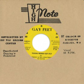 """(7"""") JOHNNY & THE ATTRACTIONS – YOUNG WINGS CAN FLY / YOUNG WINGS CAN FLY (ALTERNATIVE TAKE)"""