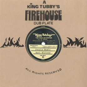 "(7"") EARL SIXTEEN ‎– PEOPLE MUSIC / KING TUBBYS - CONQUERING LION VERSION"