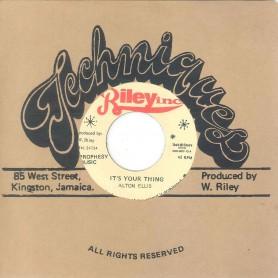 "(7"") ALTON ELLIS / VIN GORDON – IT'S YOUR THING"