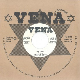 "(7"") TREVOR LEVY ‎– SO LONG / VERSION"