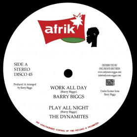 "(12"") BARRY BIGGS - WORK ALL DAY / CLARENCE WEARS - WORKING MOOD"