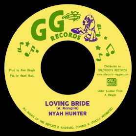 "(7"") NYAH HUNTER - LOVING BRIDE / INSTRUMENTAL VERSION"