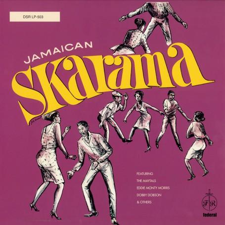 (LP) VARIOUS ARTISTS - JAMAICAN SKARAMA