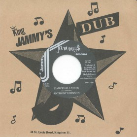 "(7"") JUNIOR MURVIN - JACK SLICK / ANTHONY JOHNSON ‎– DANCEHALL VIBES"