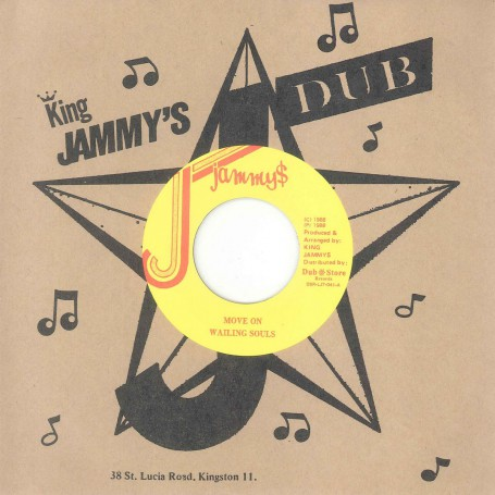 "(7"") WAILING SOULS - MOVE ON / WACKAD ‎– CRY FOR THE YOUTHS"